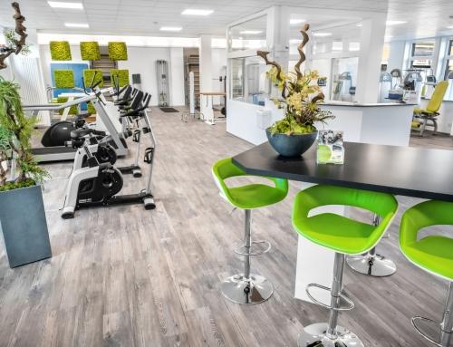 Fitness & Wellness Interior im Therapiezentrum Dormagen