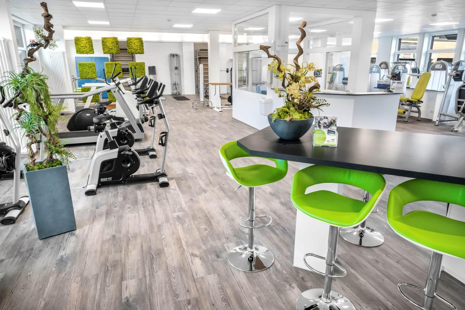 Fitness & Wellness Interior Therapiezentrum Dormagen