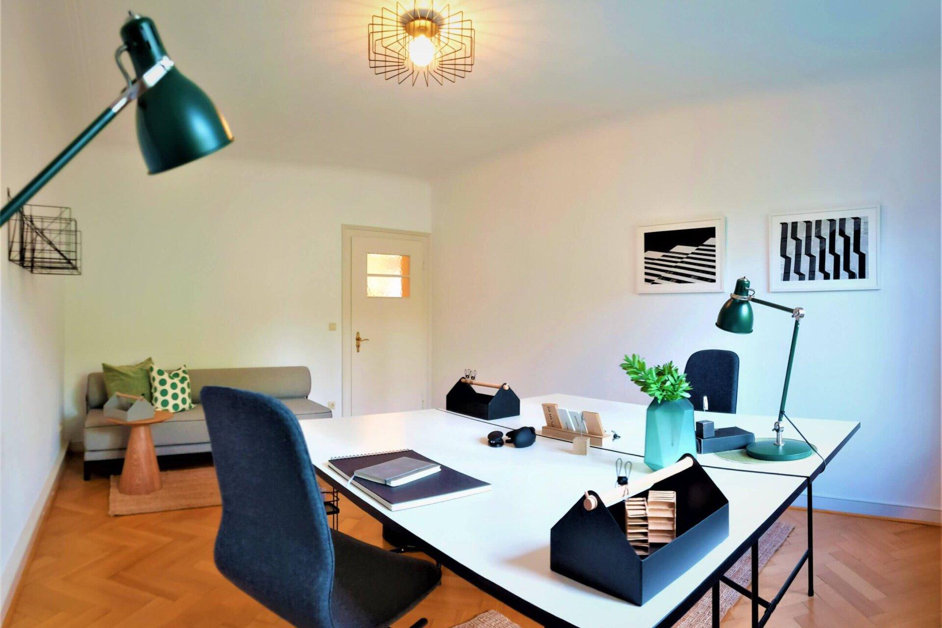 Büro und Gästezimmer